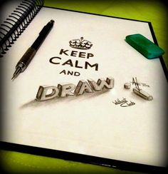 KEEP CALM and DRAW by AntonioNT.deviantart.com on @deviantART