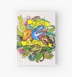 Image via We Heart It #art #blue #charlie #DELTA #dinosaur #echo #illustration #JurassicPark #merchandise #raptor #redbubble #watercolour #jurassicworld #moviemerch #aneteruel #raptorsquad #velociraptor #teamowen #teamraptor #redbubblebook