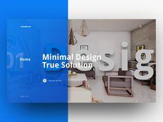 Minimalist - Home Page by Imran Hossain