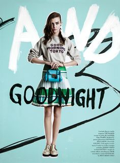 Graffiti And Goodnight: Josephine Skriver By Quentin Jones For Flair #10 April 2014