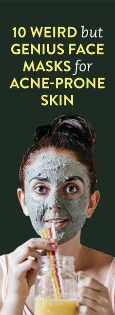 10 Weird But Genius Face Masks For Acne-Prone Skin
