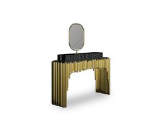 Symphony Dressing Table by Maison Valentina will be exposed @MAISON&OBJET, Covet Studio Hall 8 Stand F83/G84, symphony, symphony design table, dressing table, maison valentina, luxury furniture, maison&objet, maison objet, maison objet 2015, paris, france, design event #MO15