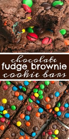Chocolate Fudge Brownie Cookie Bars are everything you love about fudgy brownies but with the texture of a cookie bar! These brownie cookie bars will satisfy any chocolate craving! Top with colorful M&M's for a fun and sweet dessert. Chocolate Chip Cookies, Brownie Mix Cookies, Chocolate Fudge Brownies, Chewy Sugar Cookies, Sugar Cookie Bars, Sugar Cookie Frosting, Homemade Brownies, Dessert Chocolate, M M Brownies