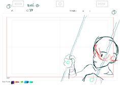 C32 - Bahi JDmy rough animation原画from日本橋高架下R計画 Music Video ProjectIA/01 -BIRTH-directed by Takuya Hosogane