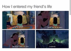 How I became friends with the people I am friends with