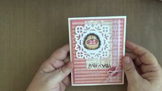 Cardmaking with Penny Black stamps and Spellbinders Die D-Lite Medallions