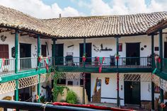 Colombia Travel, South America, Cali, Balcony, Colonial, Pergola, Beautiful Places, Places To Visit, Outdoor Structures