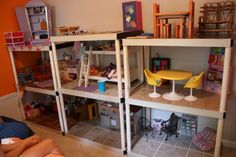 DIY American Girl doll house -