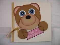 Teddy Bear Card.