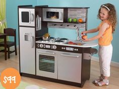 KidKraft Uptown Espresso Kitchen $119 + Free $20 Target Gift Card - Like Paying $99 - http://www.swaggrabber.com/?p=283283