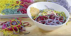 Rezept: Regenbogen Pasta ist der neue Foodtrend! #News #Genuss