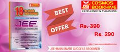 SMART Success Reckoner provides you with in-depth explanations on each top-notch test papers helping you revise entire JEE Main syllabus and prepares you for Success in CBSE Joint Entrance Examination (Main) for UG Engineering Programs at NITs, IITs & centrally funded Technical Institutions