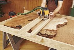 """Let Mother Nature be your co-designer as you build dazzling projects with wavy edges, bristly burrs, bark inclusions, and other """"flaws"""" that give wood a look of unrefined beauty."""