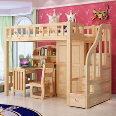 Made To Order Moon & Stars All In One Bed With Wardrobe, Shelves, Drawer Stairs & Desk £995.00 This modern all in one bed is the perfect addition to any childs room This bed design comes with a built in wardrobe, shelves, drawer stairs & a desk A single bed at the top (mattress not included) We require approx 6 weeks to make this due to exceptional demand Delivered and fitted FREE mainland uk Contact us for International delivery options and costs @ www.dazzlingdesigns.online