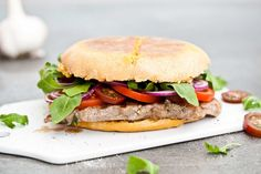 Kitchenette - Rib-eye steak burger
