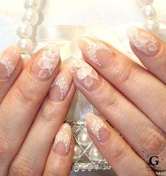 Princcess bridal nail