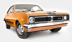 1969 Holden HT Monaro GTS 350 - It's the fastest Monaro in the classic original body: the mighty HT GTS 350. In August 1969, the '68 Bathurst-winning HK GTS's fully imported 186kW 327ci V8 (5.3-litre) gave way for a larger, more potent 224kW Chevy 350 (5.7-litre). The added oomph produced a 15.7sec quarter and top speed of around 209km/h, and the revised suspension with improved brakes made it a better driver's car than the original HK, and sharper than the HG model that followed it.