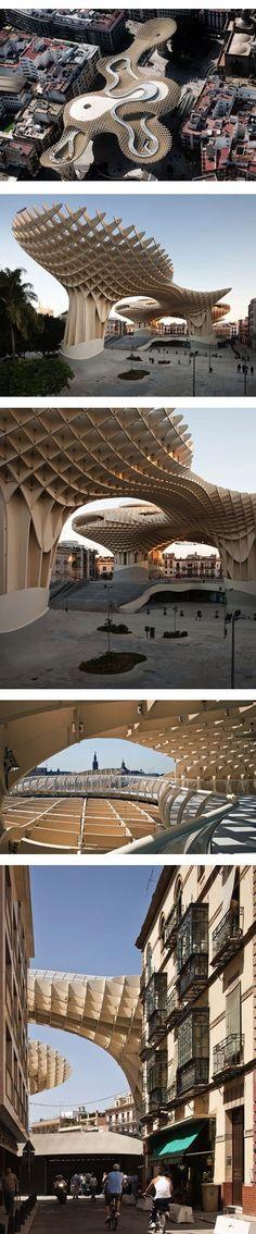 Redevelopment of the Plaza de la Encarnacion, Metropol Parasol   j. mayer h. architects