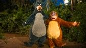 Baloo and King Louie from Walt Disney's The Jungle Book in Asia at Upcountry Landing