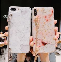 cute glitter marble foil soft silicone Crossbody strap phone case for iphone XS MAX case for iphone XR X 6 6S 7 8 plus 7plus cas | Touchy Style Best Iphone, Iphone 8, Apple Iphone, Iphone Cases, Glitter Phone Cases, Cute Phone Cases, Iphone Models, Girls Accessories, Marble
