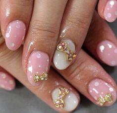 #cute #pink #cutenails
