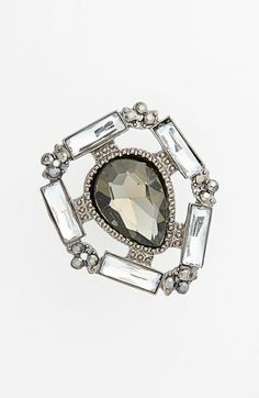 Tildon Art Deco Crystal Ring available at #Nordstrom