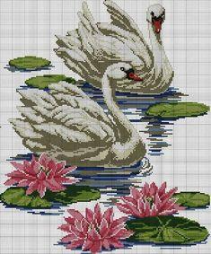 The thread - needle: Cross Stitch Cross Stitch Bird, Cross Stitch Animals, Cross Stitch Flowers, Cross Stitch Charts, Cross Stitch Designs, Cross Stitching, Cross Stitch Embroidery, Embroidery Patterns, Hand Embroidery