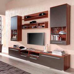 modular tv lcd rack vajillero excelente calidad nevada