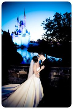 disney wedding magic kingdom