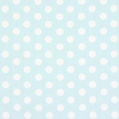 Classic Dots 0,9 cm, 21 - Algodón - azul baby