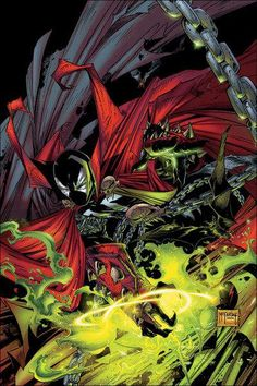 Spawn - One Of My Most Influential Comic Book Artists: Todd McFarlane Comic Book Artists, Comic Book Characters, Comic Book Heroes, Comic Artist, Comic Books Art, Spawn Comics, Bd Comics, Image Comics, Anime Comics