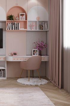 Girls Room Design, Kids Bedroom Designs, Room Design Bedroom, Bedroom Furniture Design, Small Room Bedroom, Bedroom Decor, Small Girls Bedrooms, Modern Kids Bedroom, Cool Kids Bedrooms