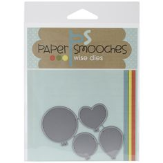 Found it at Blitsy - Paper Smooches Dies - Balloons