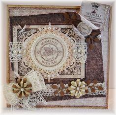 Heartfelt Creations Wednesday - Shabby Vintage