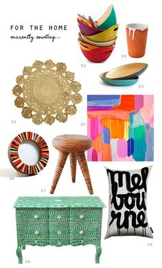 FOR THE HOME: Currently Coveting...