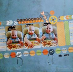 Meatballs & Spaghetti: his way - Scrapbook.com