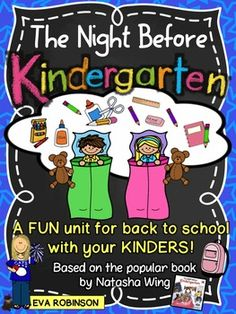 Welcoming your Kindergarteners to school is always a lot of fun! I love to read Natasha Wings The Night Before books and this one is perfect for the first day or week of school with your new Kinders! Included in the unit:*Ideas for book discussion and how to connect each activity*School Supply Dreams Worksheet*Feelings cards for your whole group wall!*Im feeling. . .