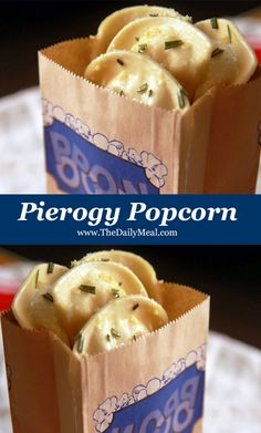 Pierogy popcorn will be your new favorite snack
