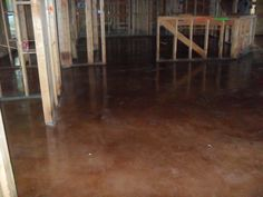 The Cobb Chronicles: Stained Concrete Floors