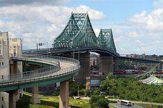 Pont Jacques Cartier ( Montréal, Québec )