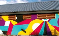 Prepare artwork for large-scale wall murals