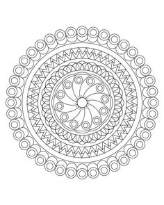 Mandala coloring pages Mandala coloring book Adult от hedehede