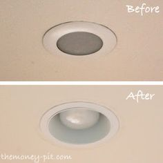 The Money Pit: Updating Recessed Lighting (or How to Keep Bugs out of your Can!) good to know
