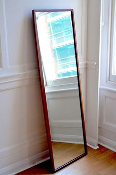 Protea Dressing room? Vintage Danish style teak full size mirror for sale. Late 60s, overall measurements are 160x45cm (LxW). Fantastic quality, worth seeing it. Would look good in any contemporary or vintage living room or bedroom. Both the frame and the mirror are in fantastic condition.