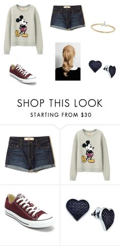 """""""Untitled #145"""" by sk8terqueen on Polyvore featuring Hollister Co., Uniqlo, Converse, BillyTheTree and EF Collection"""