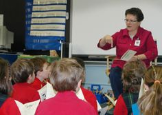 Sr. RoseMarie teaching at St. Joe's in #Sylvania #SylvaniaFranciscans