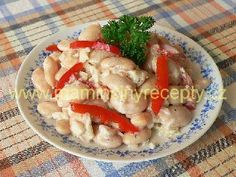 Rychlý fazolový salát Bon Appetit, Salads, Meat, Chicken, Cooking, Gardening, Kitchen, Lawn And Garden, Brewing