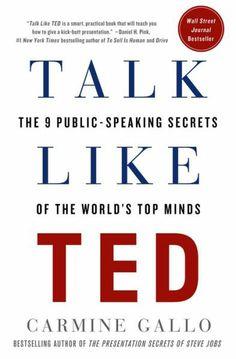 Talk Like TED. #books