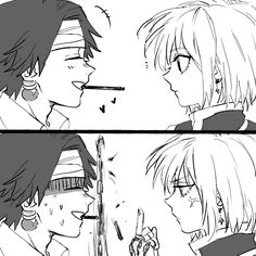 Kurapika  I don't ship this at all since I only ship Kurapika x Me, so that's why I'm so happy and I love this!