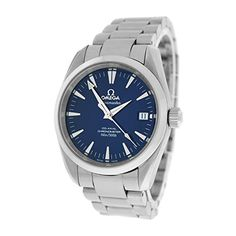 Omega Seamaster Aqua Terra mechanicalhandwind mens Watch 25048000 Certified Preowned -- Be sure to check out this awesome product.